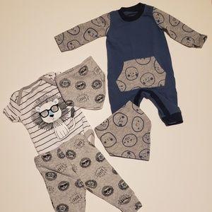 Other - Newborn-3mo baby boy set